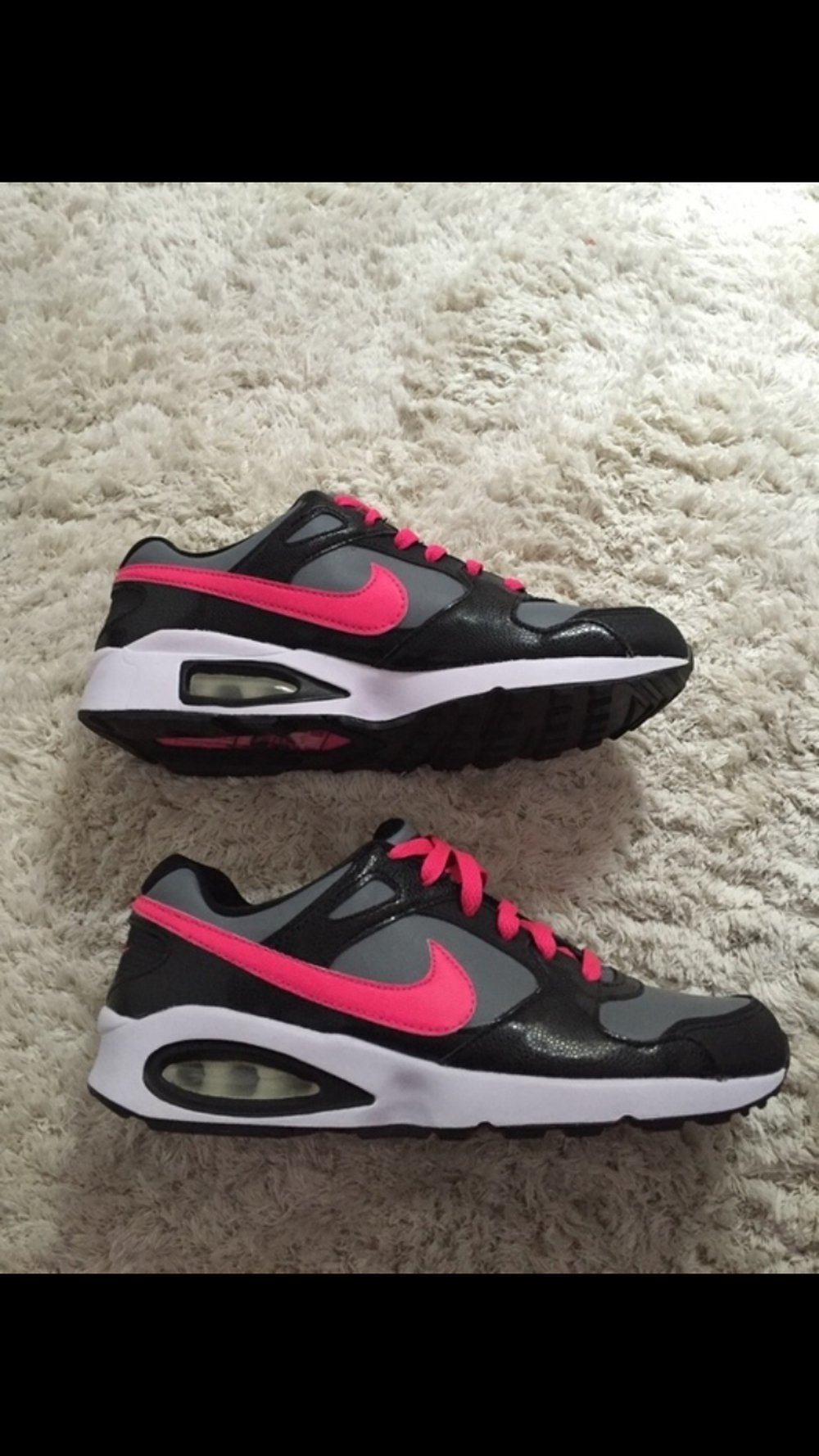 Nike Air Max Schwarz Pink Gr. 38,5