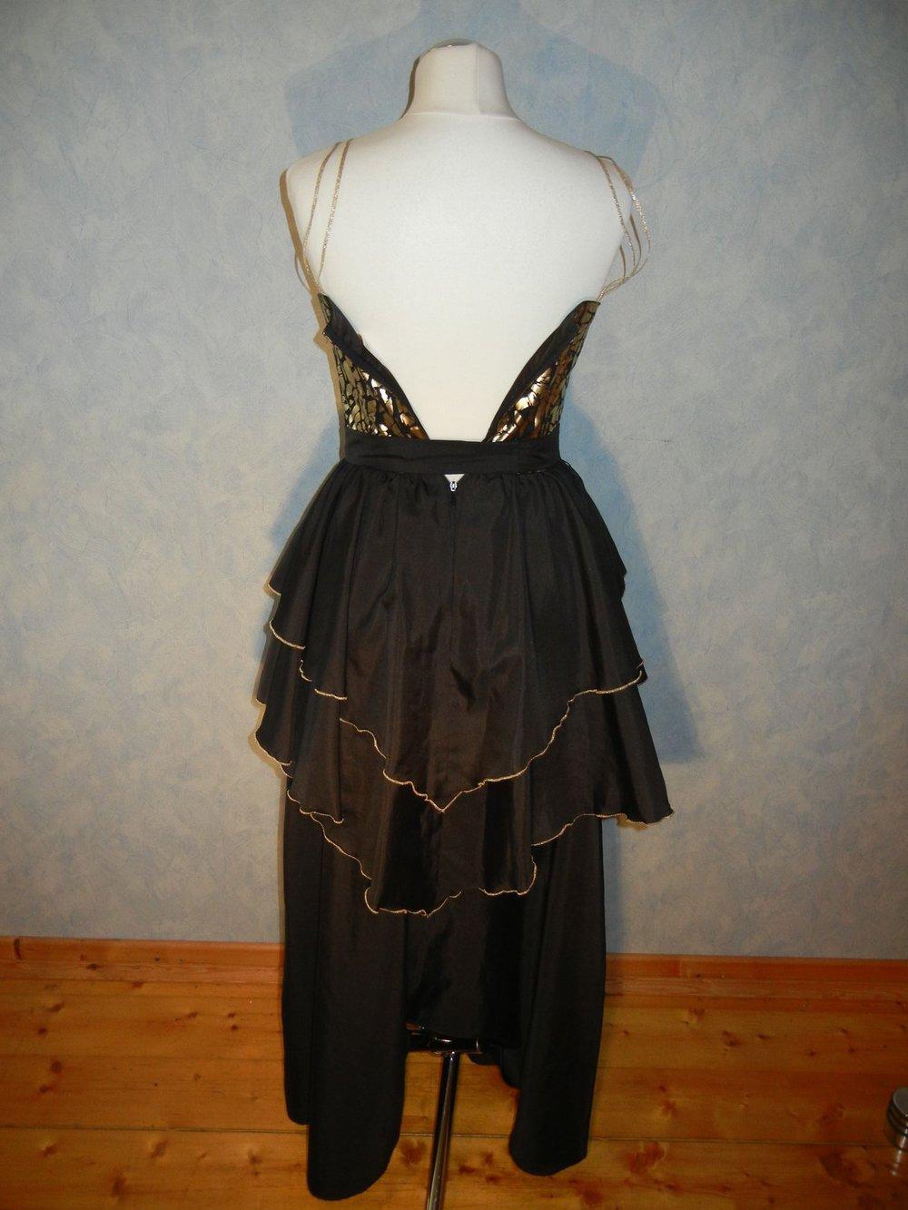 Kleid schwarz oder gold