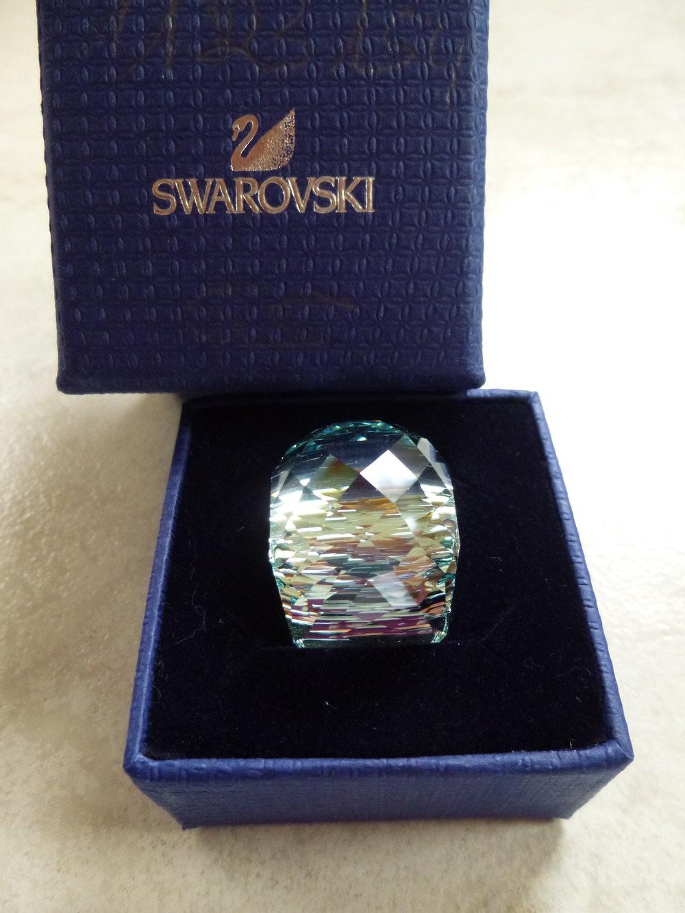 NEU Swarovski Nirvana Ring Indicoli original Gr  55 absolut rar**
