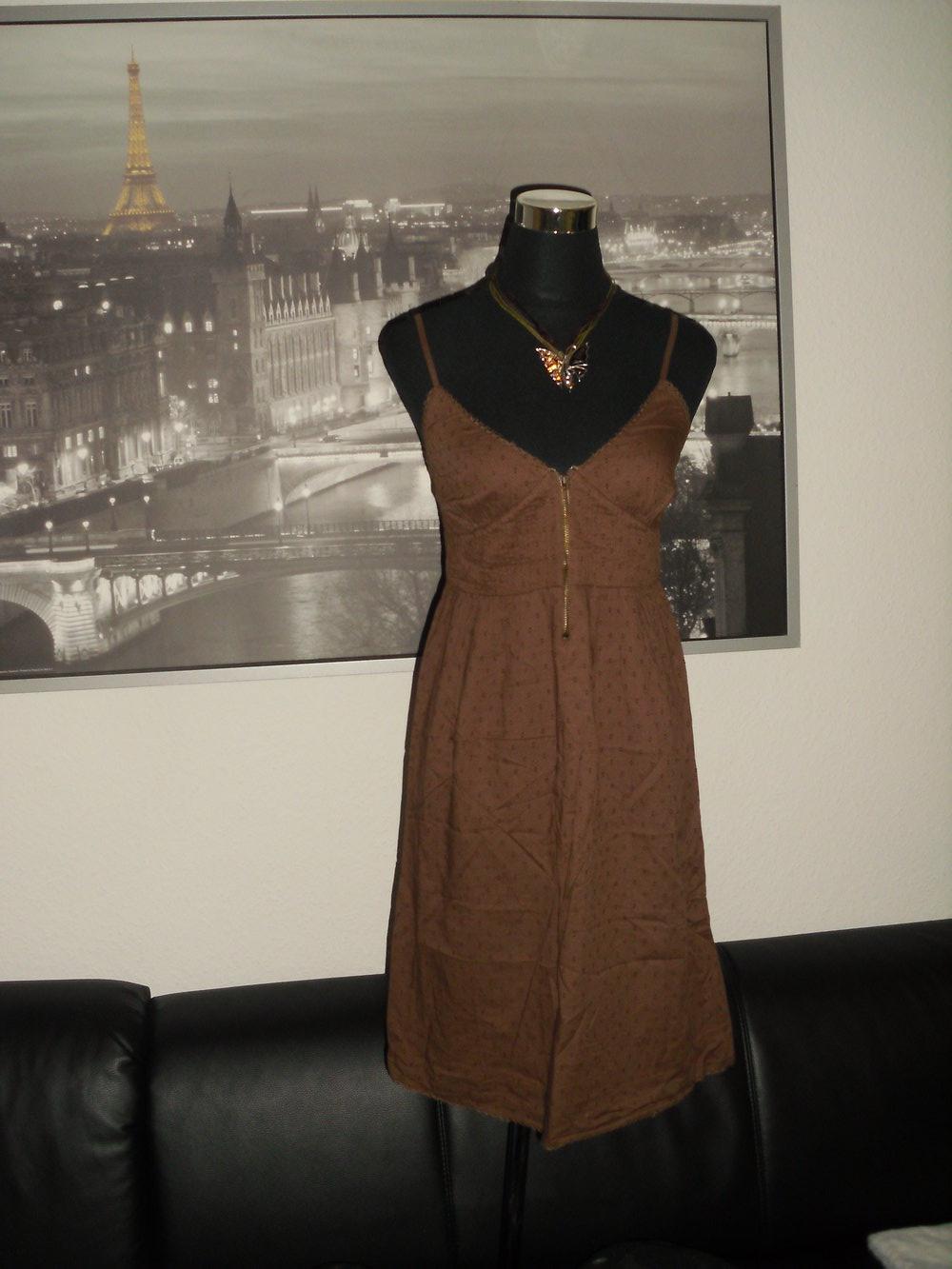 Süßes braunes Kleid NEU Gr. 13