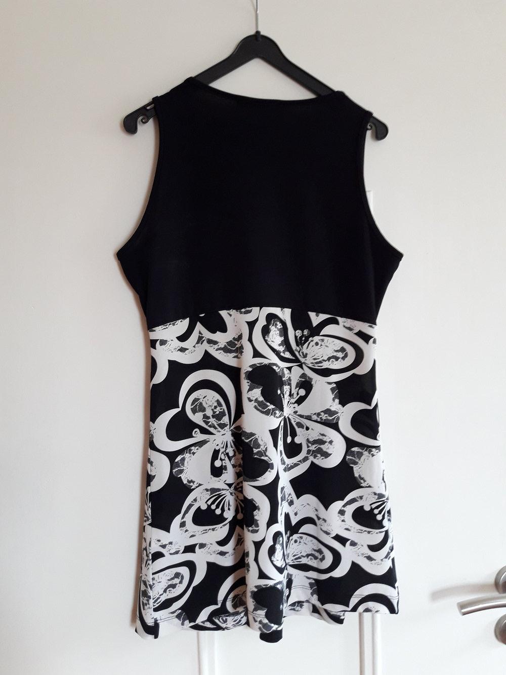 Betty Barclay Kleid weißes schwarz süßes EHWD29YI