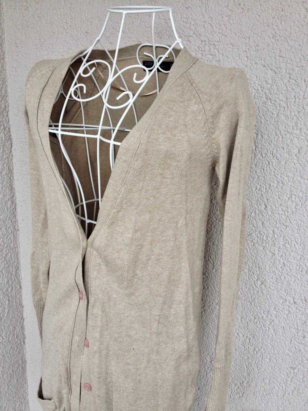 Schöner langer Cardigan von Zara Schöner langer Cardigan von Zara ... 5ad86fbd70