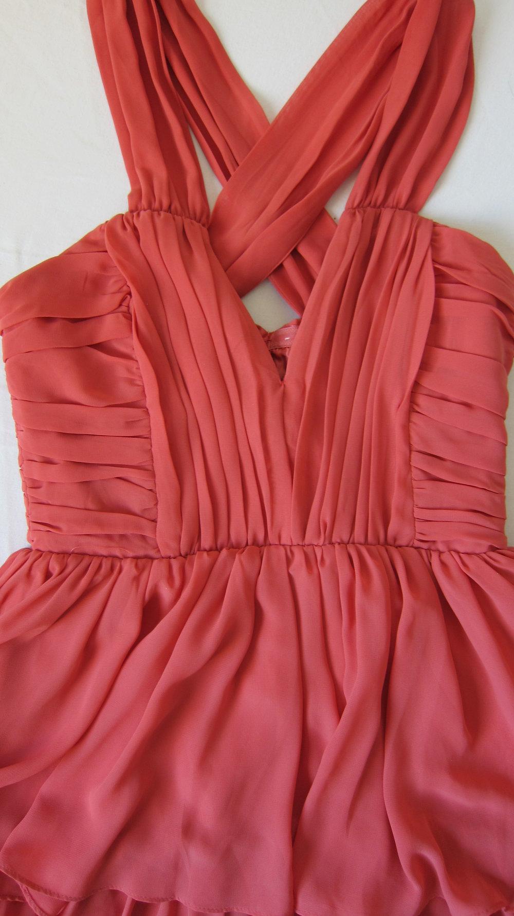 Rotes Kleid kurz von H&M Größe 11 Sommer