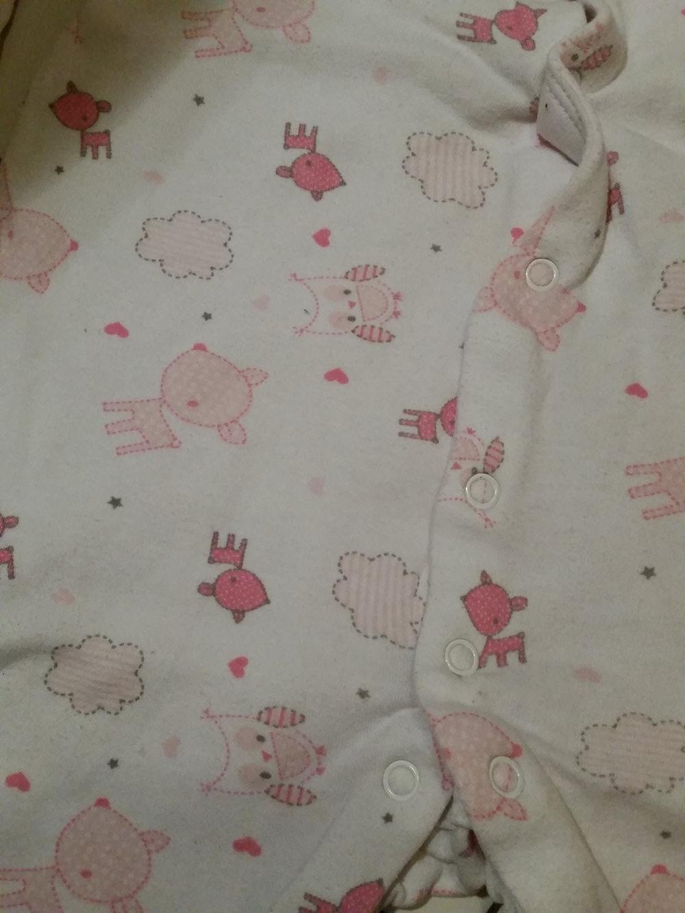 early days 2 baby m dchen schlafis schlafanzug einteiler 92. Black Bedroom Furniture Sets. Home Design Ideas