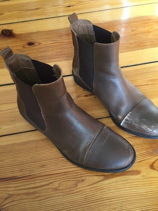 Chelsea Boots Görtz Görtz17 Gr. 39 Hipster Blogger Fashion braun Schuhe Cox