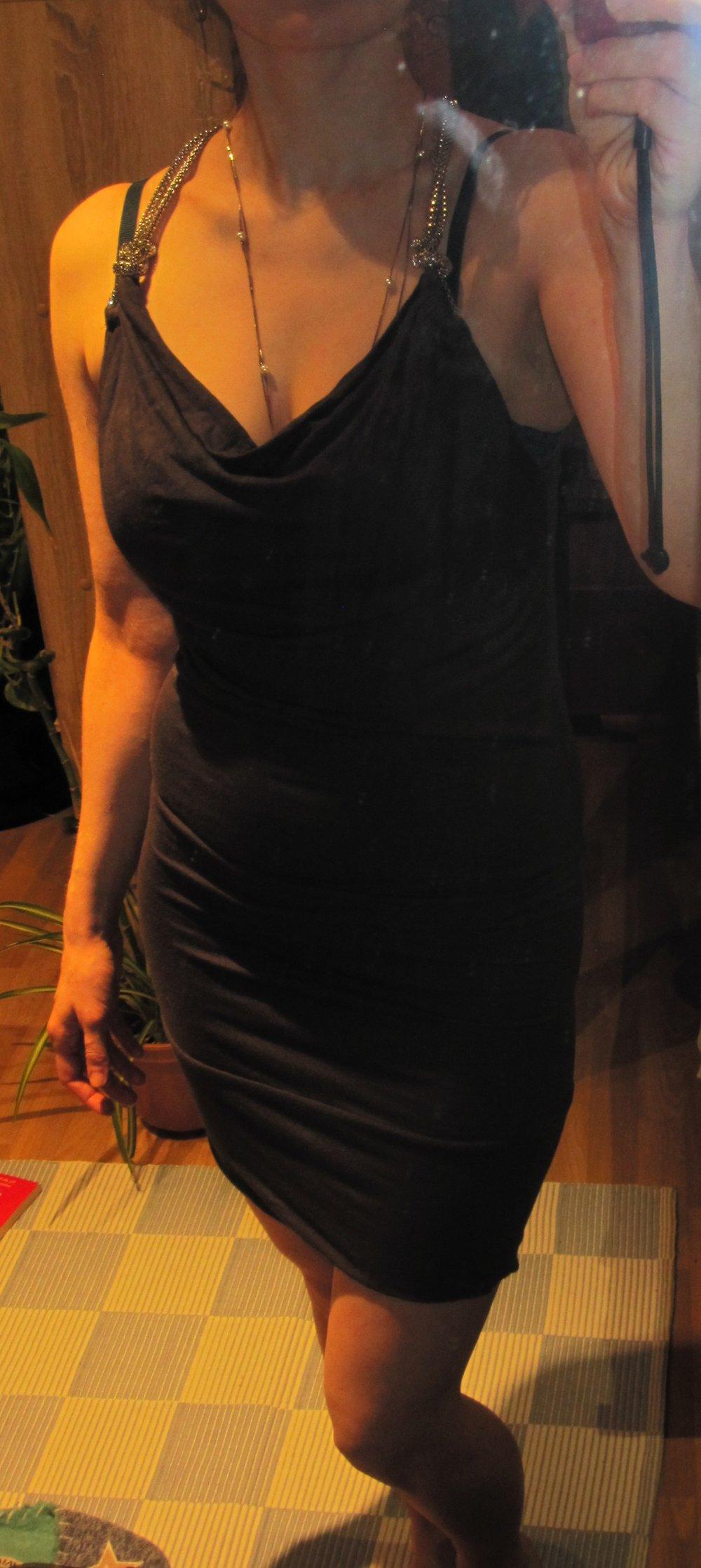 Enges, graues Partykleid :: Kleiderkorb.de