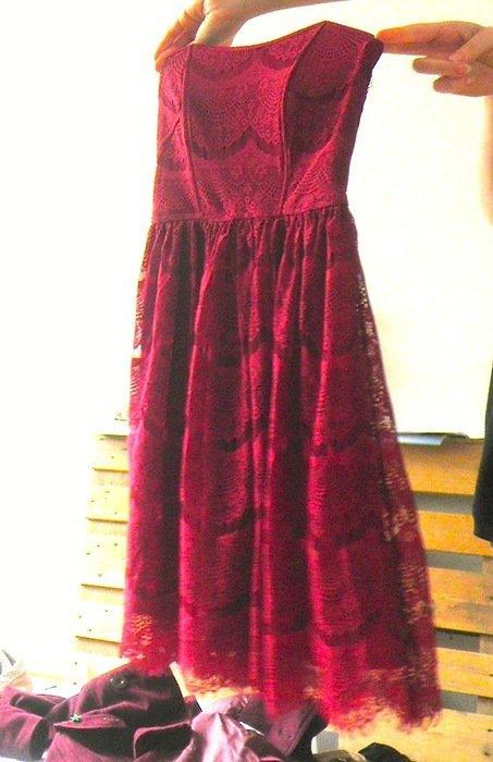 Kleid rot pimkie