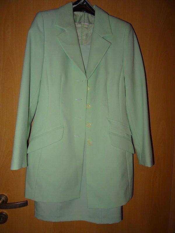 sch nes etuikleid von helline gr 36 passendem blazer mint. Black Bedroom Furniture Sets. Home Design Ideas