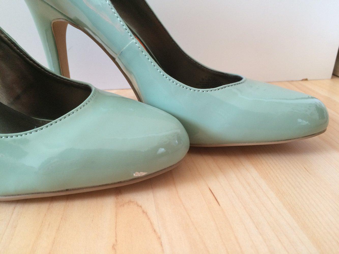 neu jessica simpson high heels gr e 39 1 2 9 1 2 farbe mintgr n. Black Bedroom Furniture Sets. Home Design Ideas