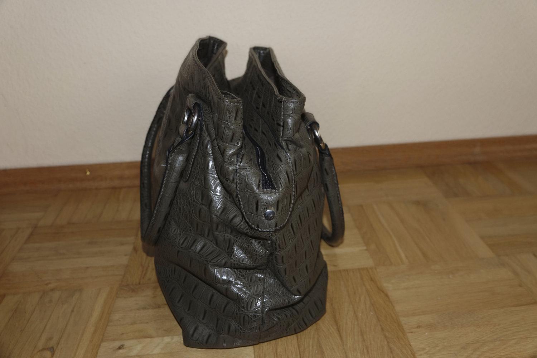 795eeac172d90 H M  - schöne Kroko Handtasche    Kleiderkorb.de