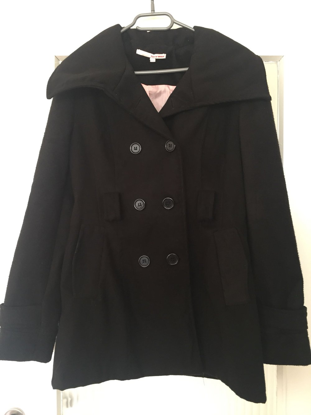 Tally weijl mantel schwarz