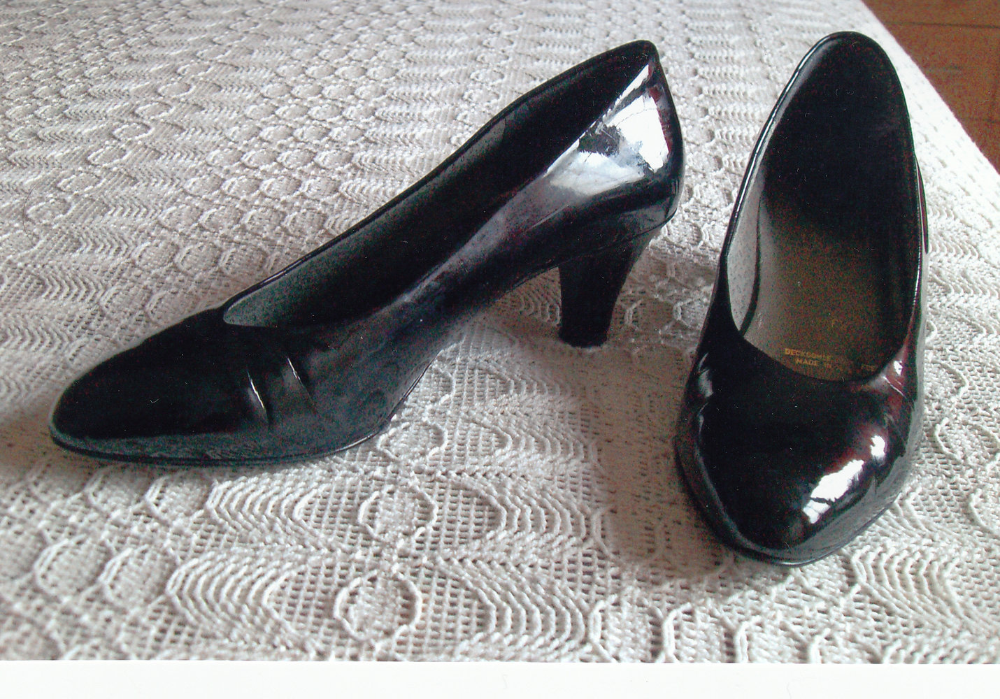 Schuhe Lackschuhe Pumps Lackpumps Gr. 38 bzw. Gr. 5
