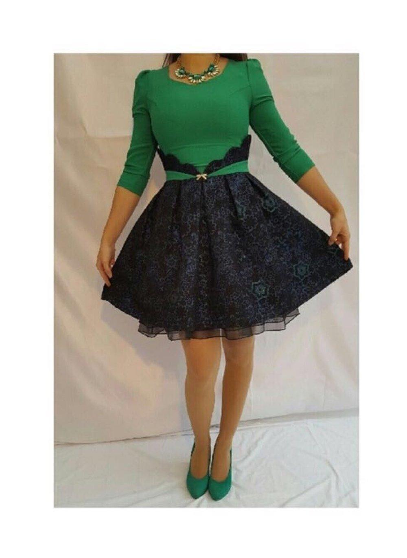 online retailer 4f51c f555d Süßes grünes Kleid