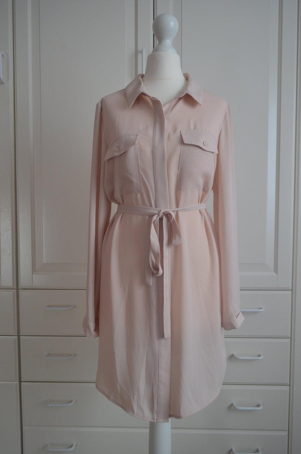 Abendkleid puder rosa