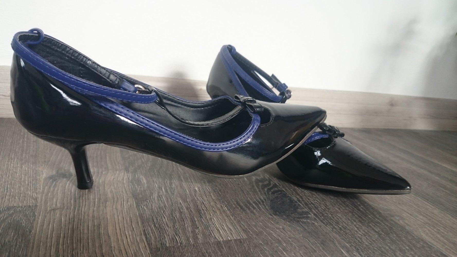 Schuhe Lackschuhe High Heels Amisu Größe 36