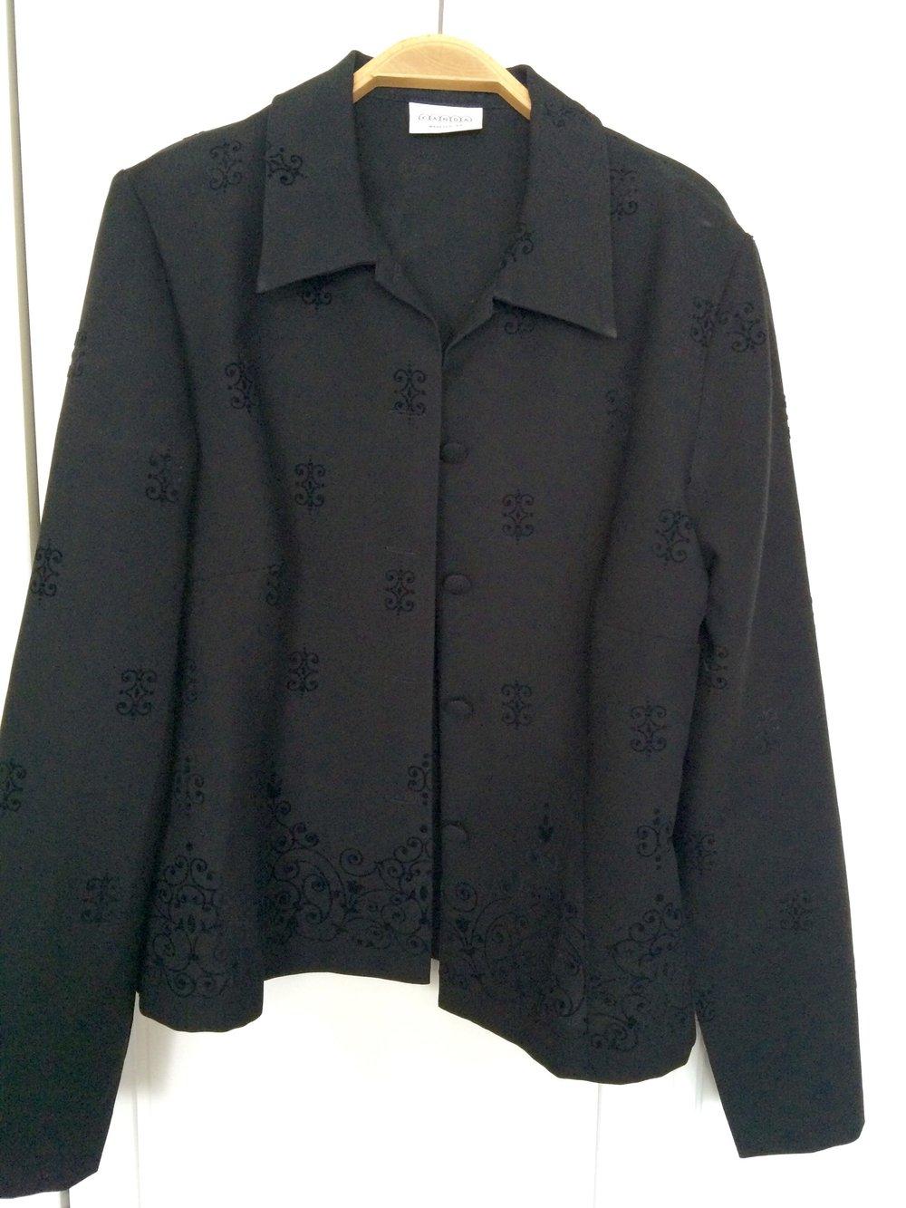 kleid mit blazer von c a. Black Bedroom Furniture Sets. Home Design Ideas