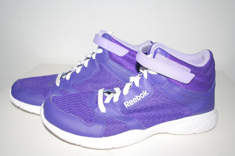 Reebok Dance Tanzschuhe Lila Weiß Sneakers Turnschuhe 41