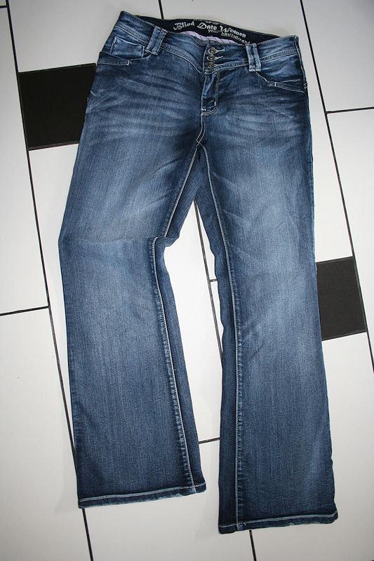 158 türkis Gerade Mädchen Hose 100/% Baumwolle neu ARIZONA Jeans Gr