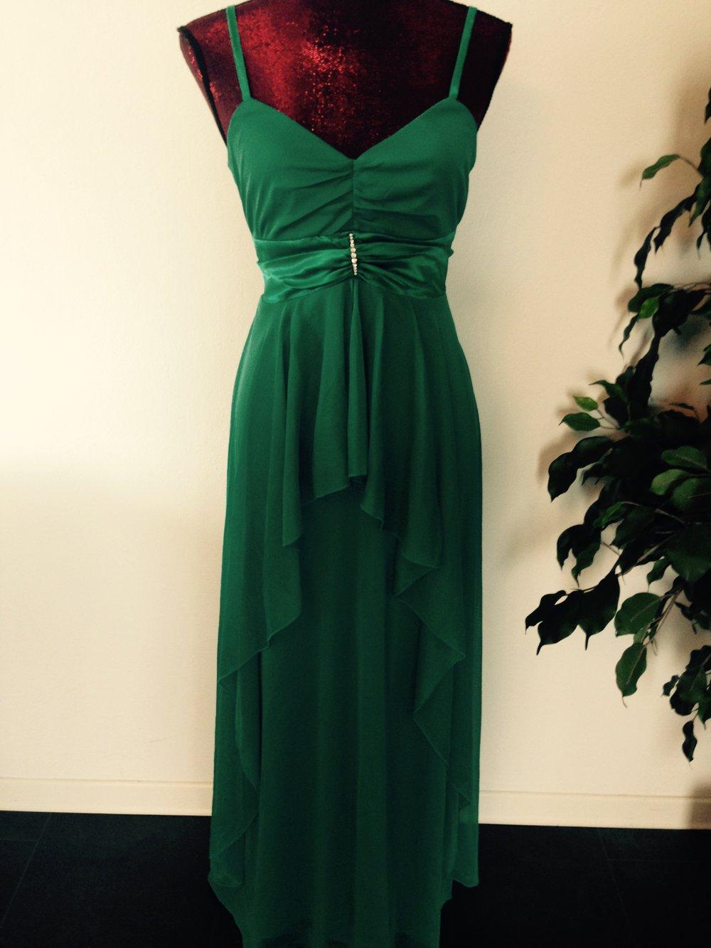 Abendkleid Cocktailkleid Hochzeitskleid Maxikleid grün