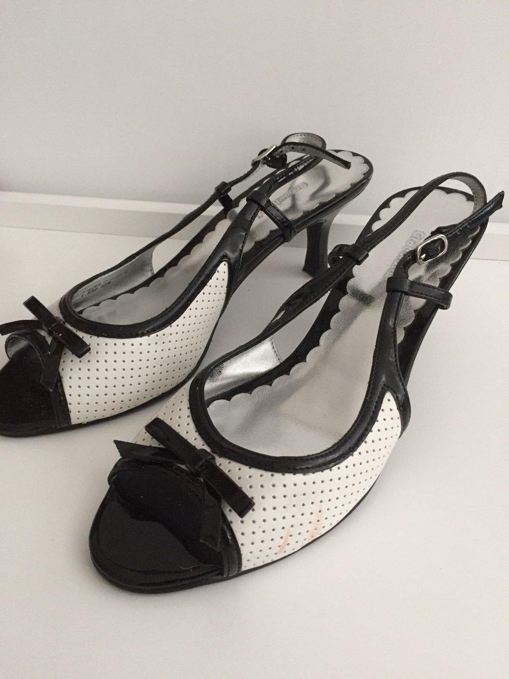 Schuhe Mit Einer Graceland Schleife37Schwarz Weiß rCoBeWxd