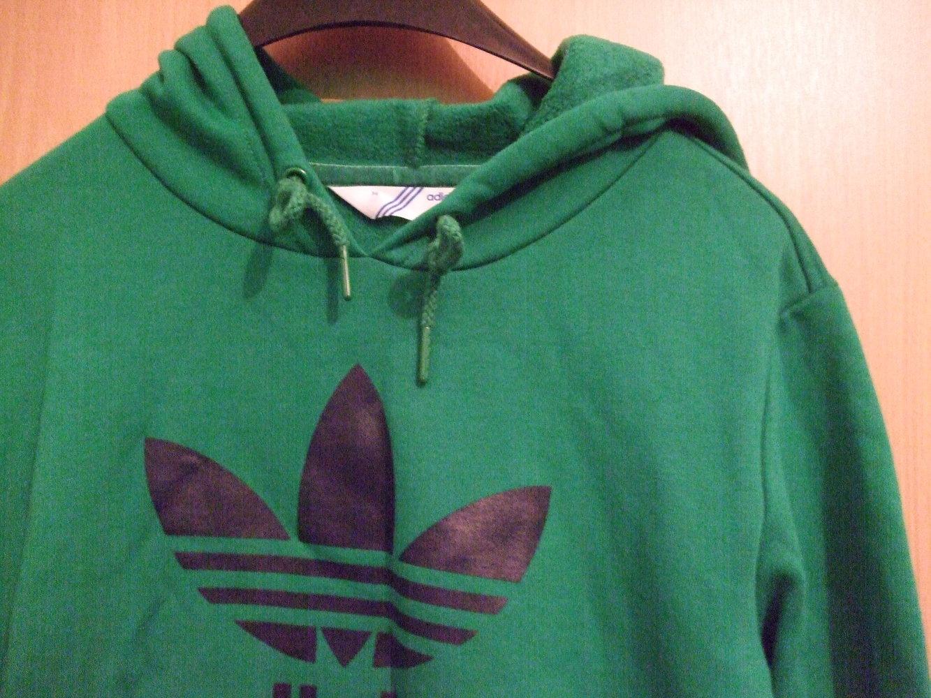 grüner adidas pullover
