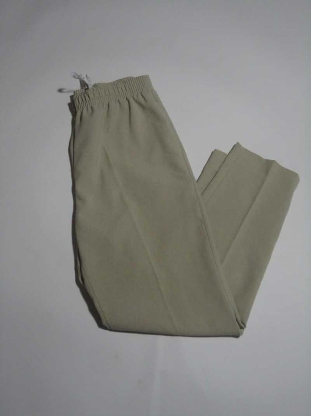 b0ea6e19a9 Beige Hose schlicht Basic Kurzgröße Beige Hose schlicht Basic Kurzgröße ...