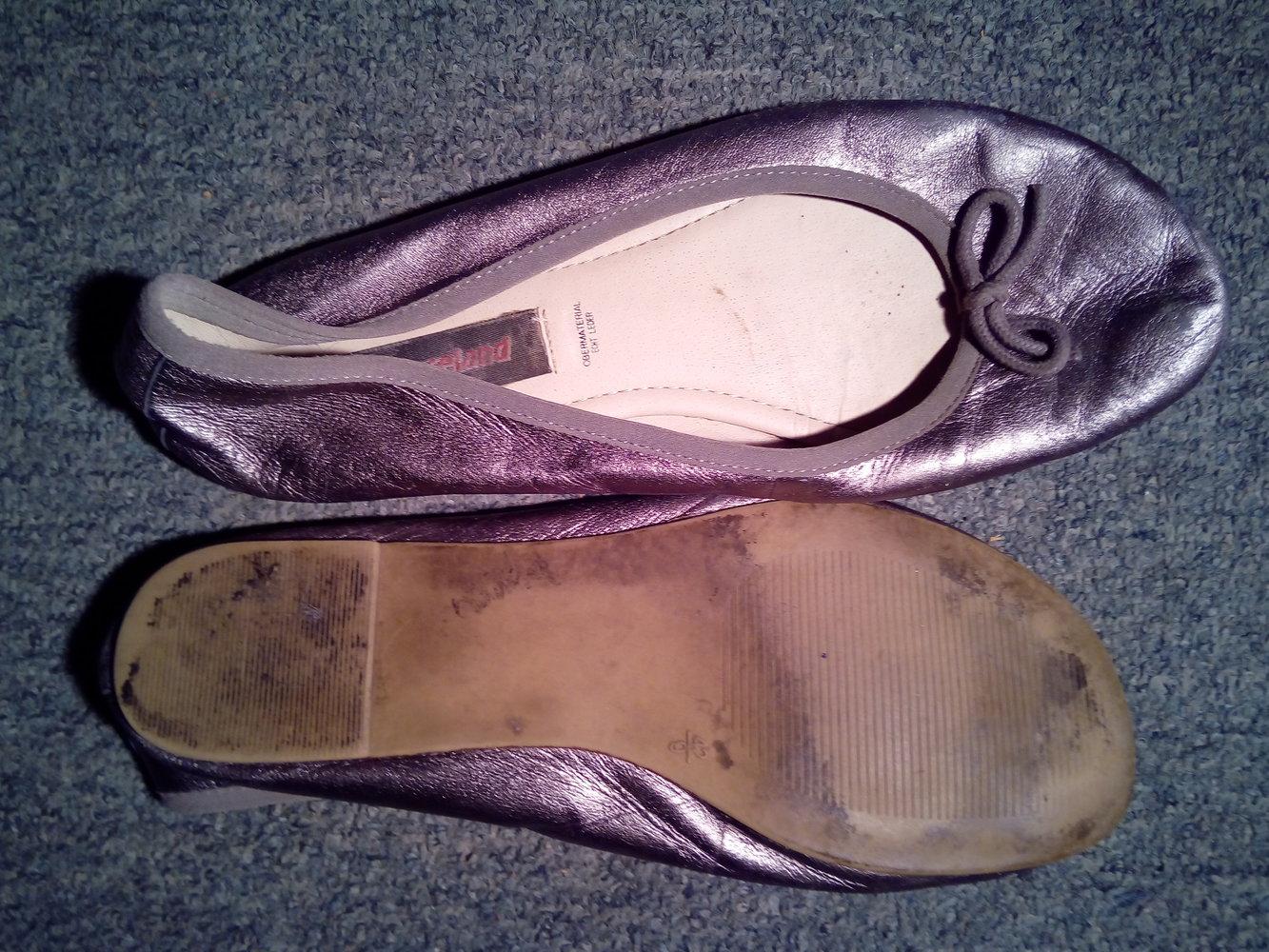 Ballerinas Graceland 42 Silber
