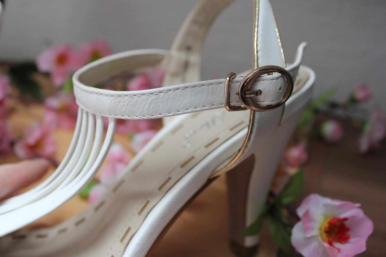 best shoes sommer schuhe wei offen mit absatz. Black Bedroom Furniture Sets. Home Design Ideas