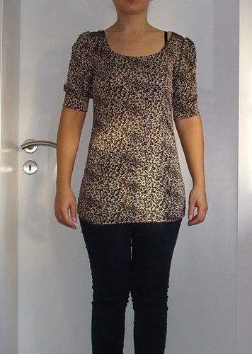 shirt leopard mit tiefem r ckenausschnitt. Black Bedroom Furniture Sets. Home Design Ideas