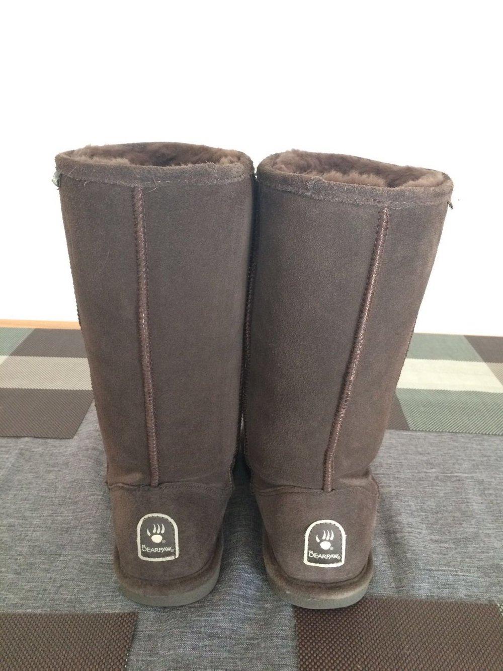 bearpaw winterstiefel wie ugg boots stiefel gr e 40 39. Black Bedroom Furniture Sets. Home Design Ideas