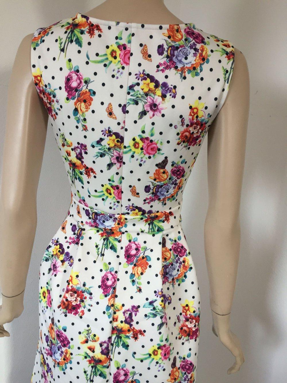 Sommerkleid Cocktailkleid Abendkleid Partykleid mit Blümchen ...