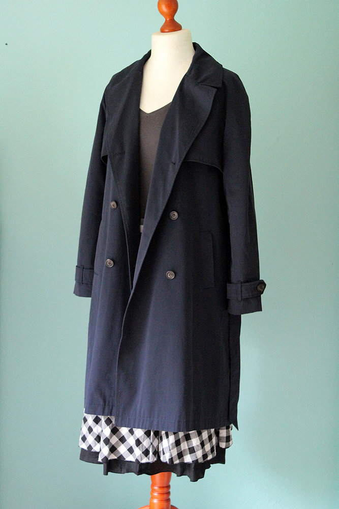 Tom Tailor Trenchcoat Springtime Trench in Dunkelblau QGJQJW.