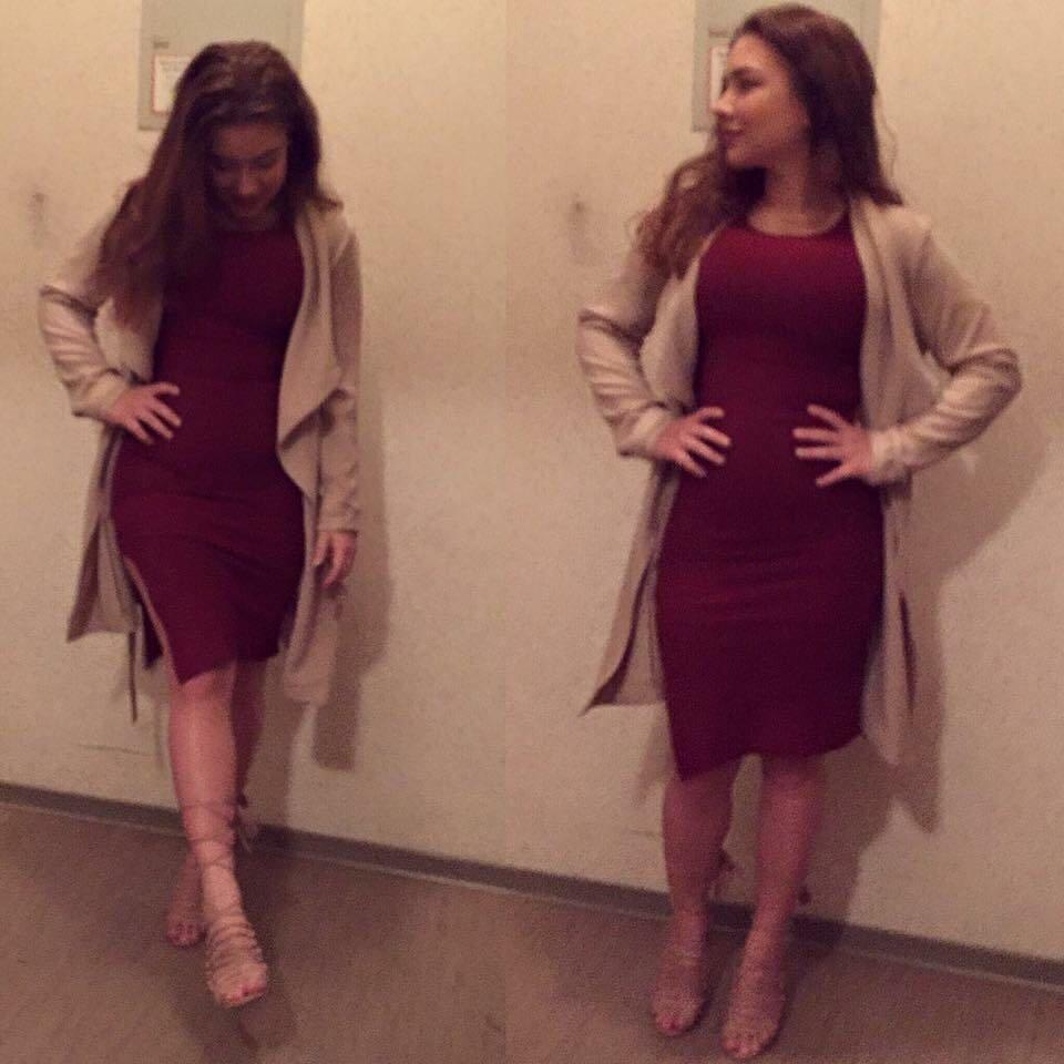 jacke für rotes abendkleid