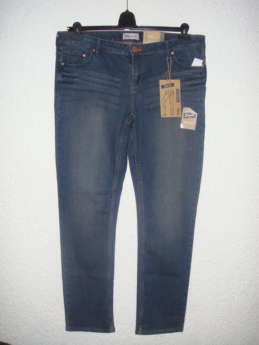 jeans jeanshose janina denim neu mit etikett. Black Bedroom Furniture Sets. Home Design Ideas