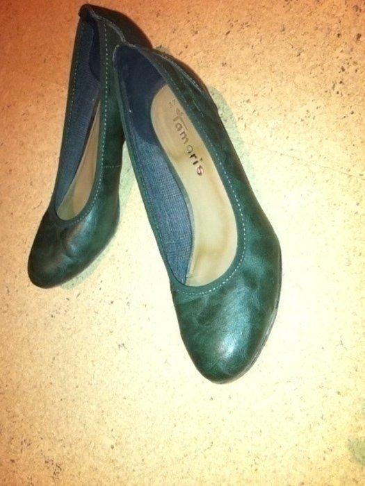 big sale d2b7f 2fab5 Tamaris keilpumps Pumps Ballerinas 37 grün oliv Ballerina