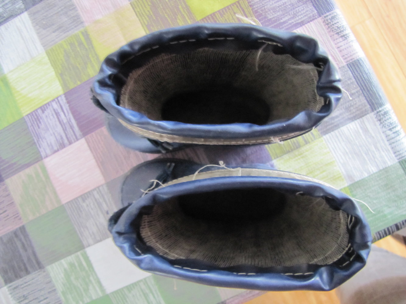 wholesale dealer d0b32 7d00b schlichte blaue Gummistiefel Gr. 23