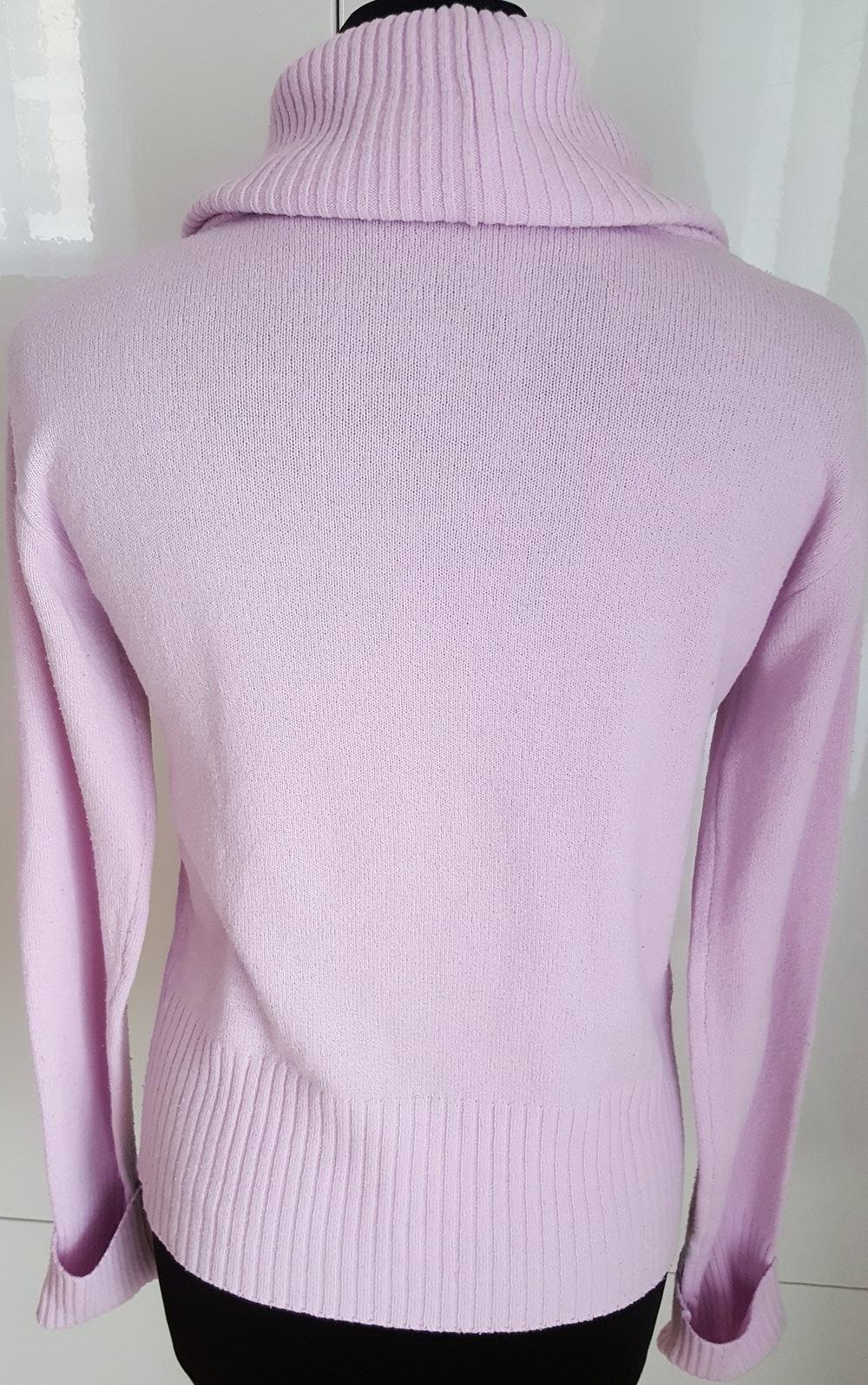 rosa damen rollkragen pullover von elements in gr 38. Black Bedroom Furniture Sets. Home Design Ideas