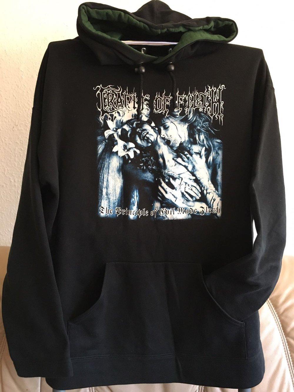 Cradle of filth hoodie