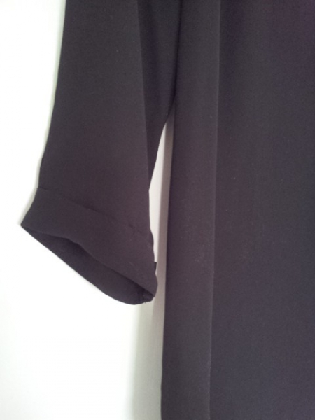 atmosphere primark schlichte schwarze bluse. Black Bedroom Furniture Sets. Home Design Ideas