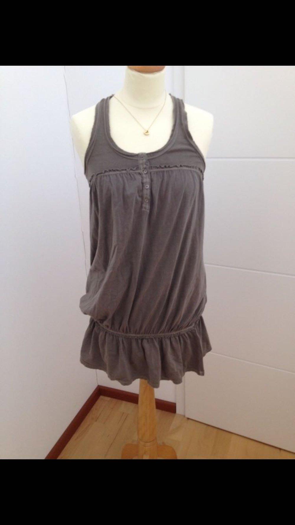 tomtailor tom tailor kleid sommerkleid khaki kleidchen s. Black Bedroom Furniture Sets. Home Design Ideas