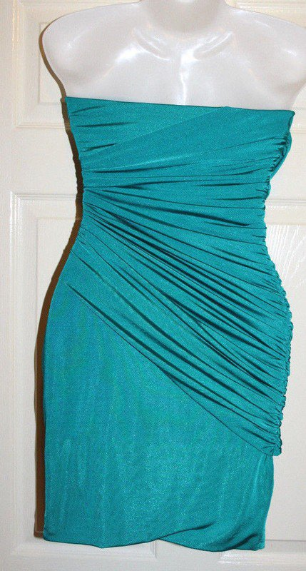 34 Jane NORMAN bandeau Abi   Abend KLEID Party Cocktailkleid in GRÜN Steine  Abendkleid gr. 8ecc02c1b2