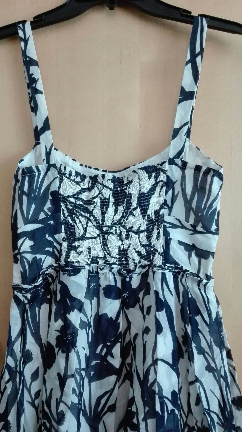 Zara Sommerkleid Kleid Blumen Weiss Blau Traumhaft Luftig 34 36 Xs S Kleiderkorb De