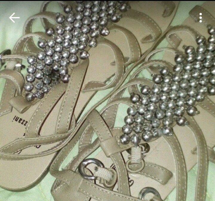 keine ahnung sommer sandalen mit perlen. Black Bedroom Furniture Sets. Home Design Ideas
