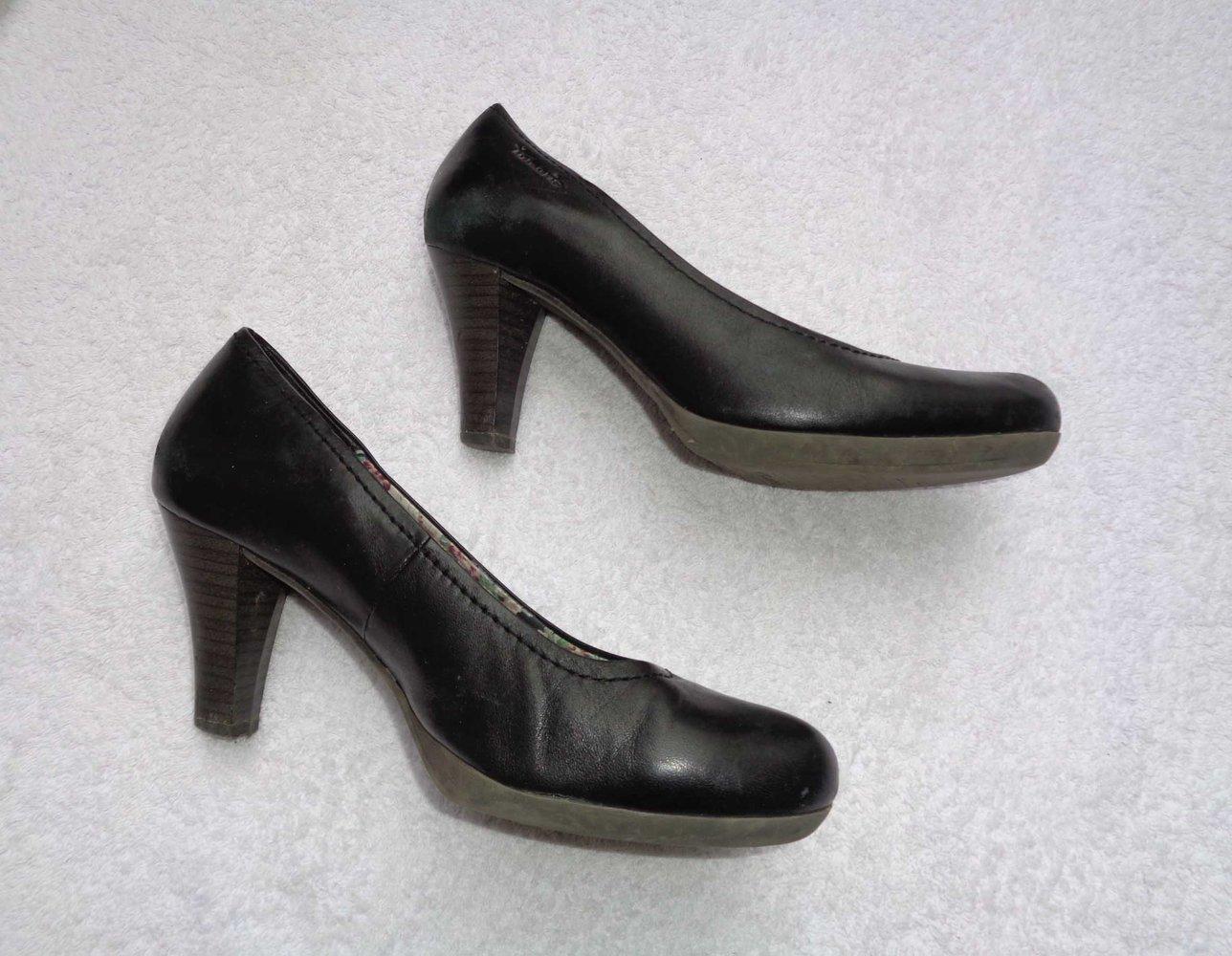tamaris high heels pumps schwarz gr 38. Black Bedroom Furniture Sets. Home Design Ideas