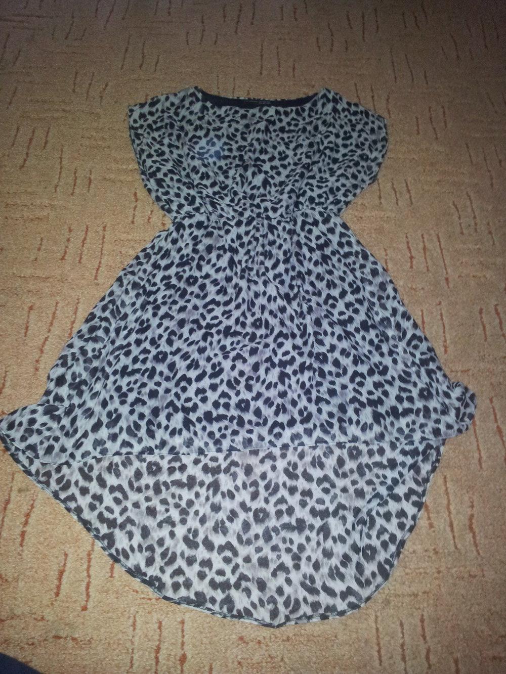 Kleid Leopard Atmosphere Gr. 40 Vokuhilakleid