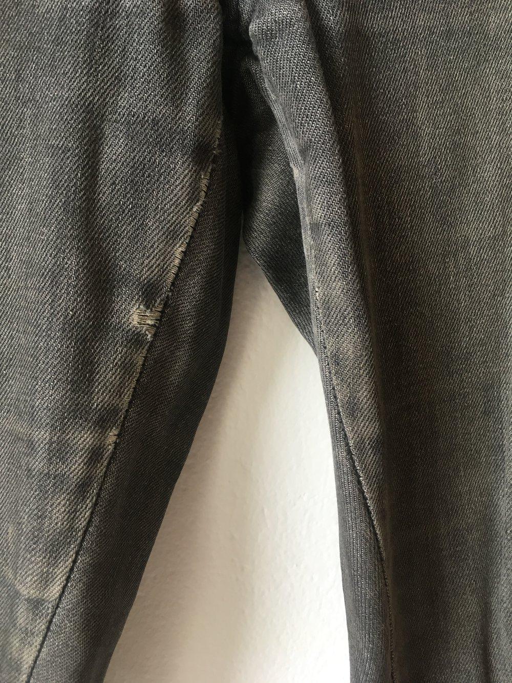 ... Miss Sixty Jeans Judy M Grau Gr.27 DENIM Straight Distressed Used Look  ... a97c1c76e6