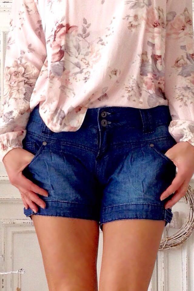 Hotpants, Blogger, Jeans, Shorts, jumphose, Landhaus, süß, 36, 38 ... 49b19d98ab