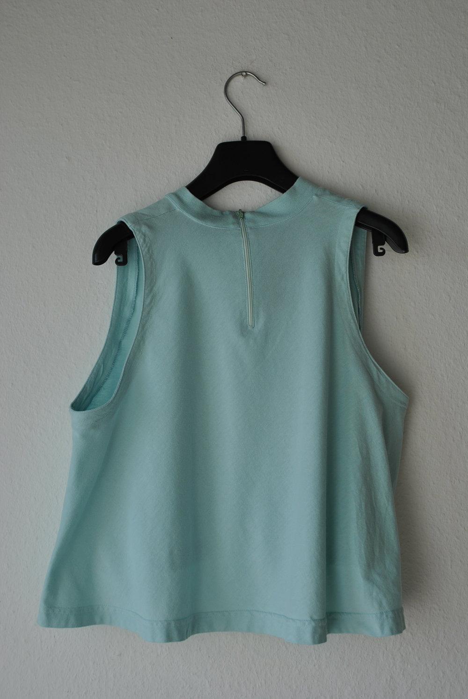 shirt crop top weit mit stehkragen kurz gr m 38 40 oversize. Black Bedroom Furniture Sets. Home Design Ideas