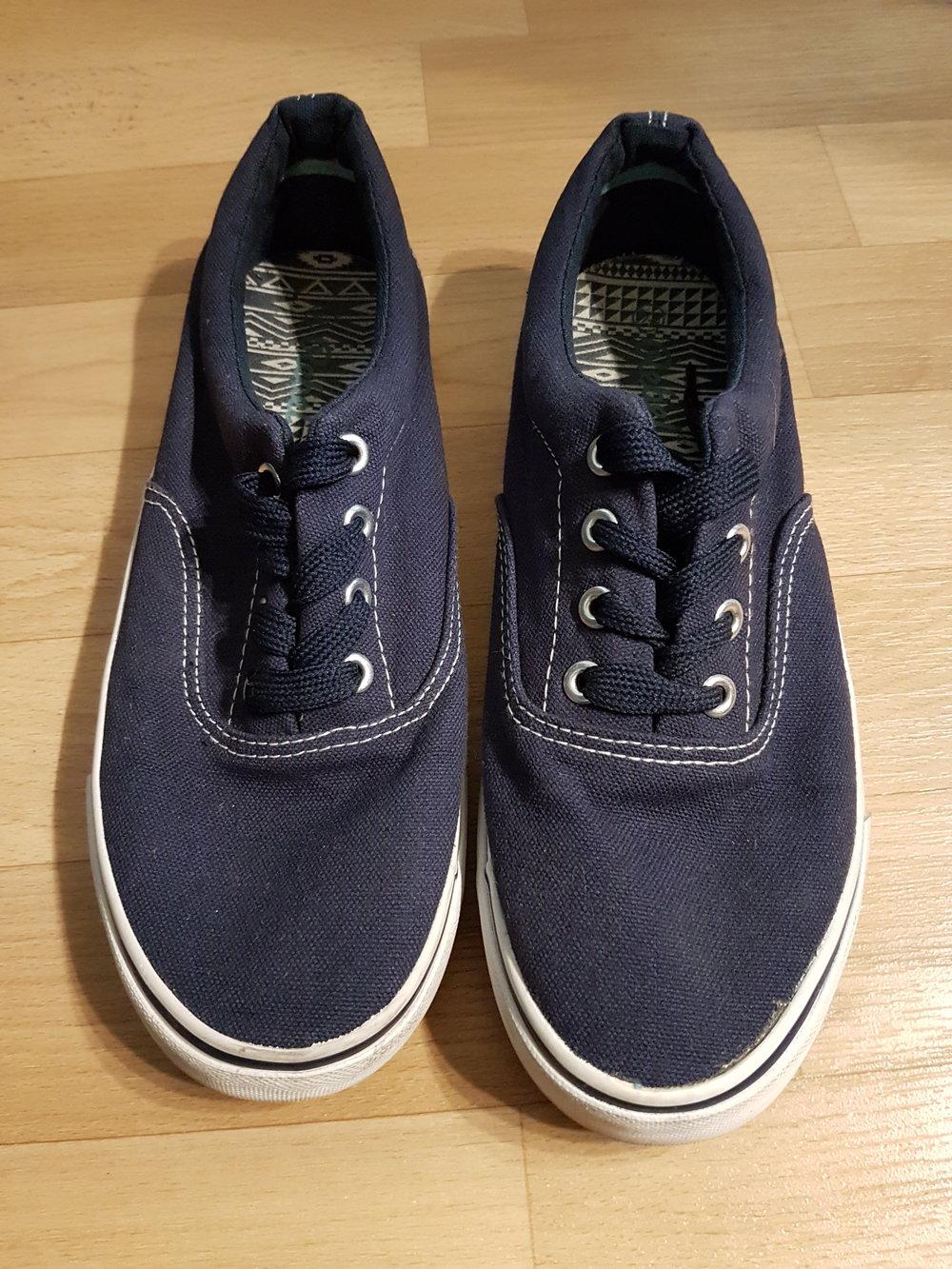 Sneaker Stoffschuhe für Damen Größe 39 Rebel Primark    Kleiderkorb.de 9defb1eafc