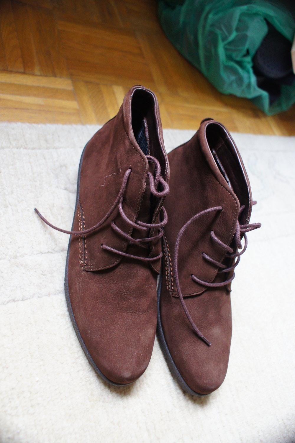 sports shoes a25e6 32ae8 braune Halbschuhe von Ecco
